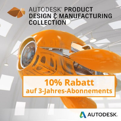 Product Design & Manufacturing Collection, Wechsel von AutoCAD
