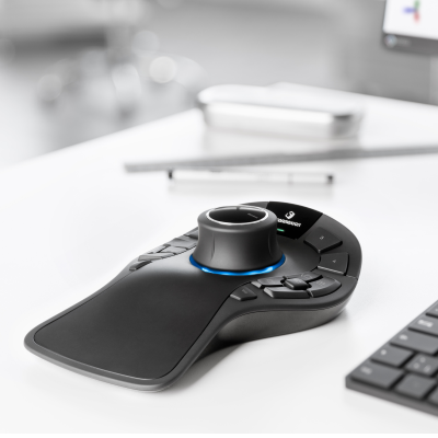 SpaceMouse Pro Wireless + kostenlose CadMouse Wireless und MousePad Compact